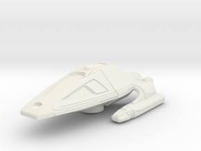 Type 9 Shuttle: 1/270 scale in White Natural Versatile Plastic