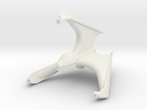 Chig Stealth Fighter: 1/270 scale in White Natural Versatile Plastic