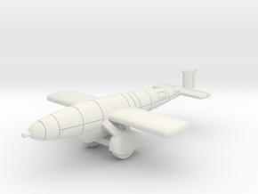 (1:144) SG 5041 V1 Deichselschlepp in White Natural Versatile Plastic