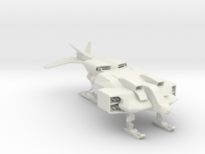Cheyenne Dropship 160 scale in White Natural Versatile Plastic
