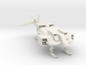Cheyenne Dropship 285 scale in White Natural Versatile Plastic