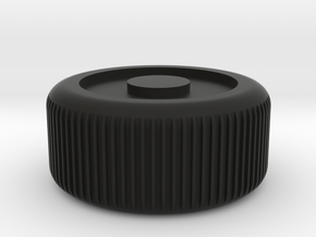 Truck wheel in Black Natural Versatile Plastic