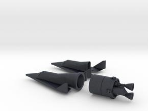 1/200 BOEING X-20 DYNA SOAR SPACE PLANE  in Black PA12