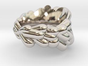 VR 4 in Rhodium Plated Brass: 7 / 54