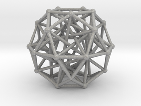 Tensegrity • Icosidodecahedron in Aluminum