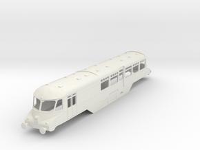 o-76-gwr-railcar-no18 in White Natural Versatile Plastic