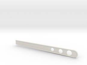 B Guard Stir Stick in White Natural Versatile Plastic