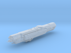 UNSC Infinity supercarrier high detail in Smooth Fine Detail Plastic