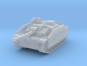 StuG III G early (skirts) scale 1/144 in Smooth Fine Detail Plastic