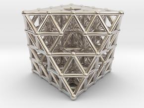 Octahedron fractal  in Platinum