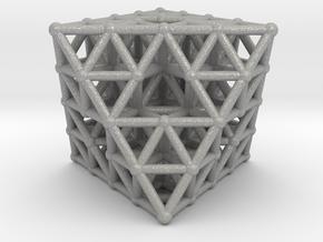 Octahedron fractal  in Aluminum