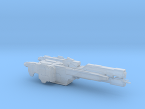UNSC Charon Frigate in Smooth Fine Detail Plastic