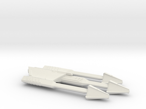 3125 Scale Ymatrian War Axe Heavy Cruiser (CA) MGL in White Natural Versatile Plastic