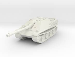 Jagdpanther scale 1/87 in White Natural Versatile Plastic