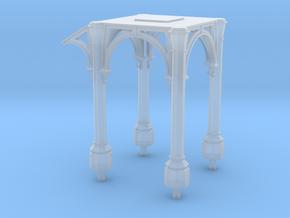 CR footbridge support in Smoothest Fine Detail Plastic
