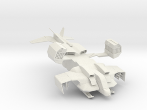 UD-4L Dropship 160 scale in White Natural Versatile Plastic