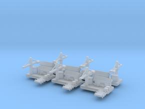 Naval Yard x6  in Smooth Fine Detail Plastic
