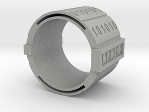 nfc binary ring in Aluminum