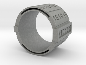nfc binary ring in Gray PA12