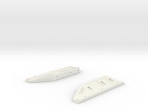 TRX-4 G-Class G-Wagon Gelandewagen Body Mounts (Tr in White Natural Versatile Plastic