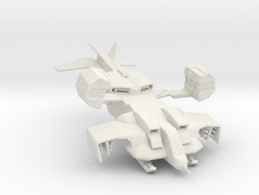 UD-4LW Dropship 285 scale in White Natural Versatile Plastic