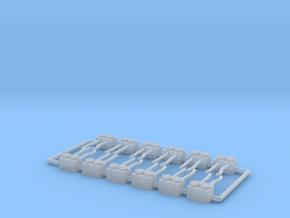 1:400 12x Small Preconditioned Air Unit Jetbridge in Smooth Fine Detail Plastic