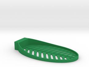 Shower soap dish in Green Processed Versatile Plastic