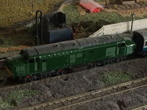 Class 37 - Z - 1220 in Smooth Fine Detail Plastic