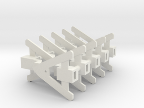 Close coupling mechanism_NEM socket_10pcs in White Natural Versatile Plastic