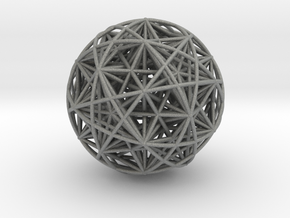 Hedron Star compound in Gray Professional Plastic