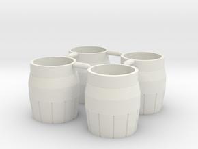AfterburnerNozzles in White Natural Versatile Plastic