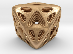 Nested Octahedron in Natural Bronze