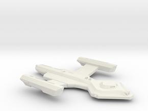 3788 Scale Vari Heavy Frigate MGL in White Natural Versatile Plastic