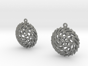Earrings Hueso 2215 in Gray PA12