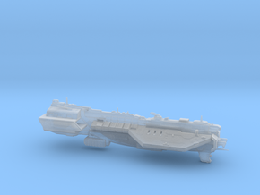 UNSC Assault Carrier Defiant class in Smooth Fine Detail Plastic