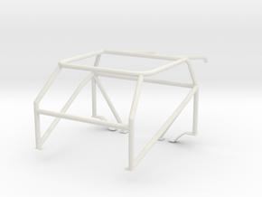 Roll cage 1/24 V6 in White Natural Versatile Plastic