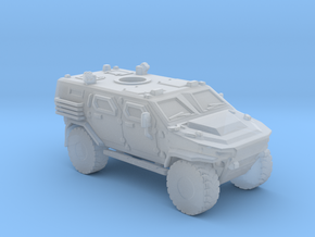 LANCER MRAP recon vehicle very high detail in Smooth Fine Detail Plastic