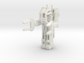 Powerloader 160 scale in White Natural Versatile Plastic