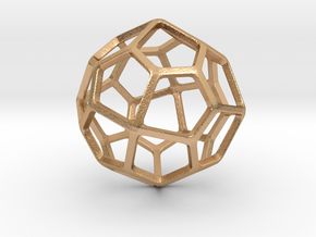 Pentagonal Icositetrahedron in Natural Bronze: Small