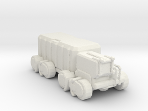 A-CMX360 Cargo Truck 160 scale in White Natural Versatile Plastic