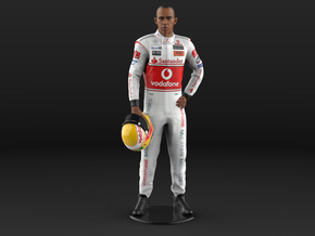 Lewis 2008 Champion 1/6 Standing Figure in Natural Full Color Sandstone