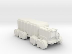 A-CMX360 Cargo Truck 285 scale in White Natural Versatile Plastic