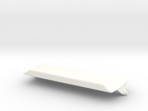 Lancia Delta Ashtray Lid in White Processed Versatile Plastic