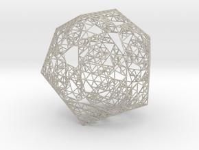 Sierpinski Icosahedron in Natural Sandstone