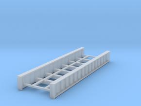 Plate Girder Bridge 60 Foot N 1:160 in Smooth Fine Detail Plastic