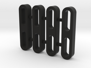 Traxxas TRX-4, Rock Slider Spacer, 5mm Thick in Black Natural Versatile Plastic