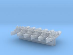 Navajo/Cherokee Class Tug x6 (FUD) in Smooth Fine Detail Plastic: 1:2400