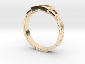Women's - Gem (Ready) Ring #1 in 14k Gold Plated Brass