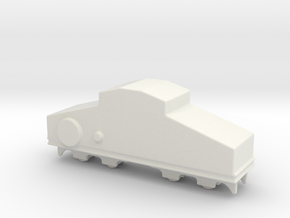 locomotive  Locotracteur Crochat 1/160  in White Natural Versatile Plastic