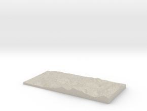 Model of Horrenbach in Natural Sandstone